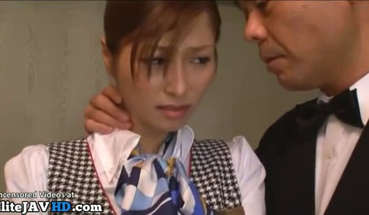 Fetish - Japanese Maid Has To Fuck Two Clients In Luxury Hotel
